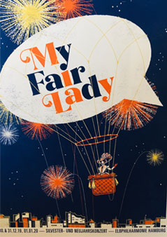 My Fair Lady Plakat